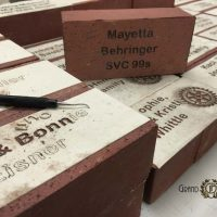 Fundraising Ideas: Personalized Bricks