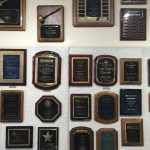 Plaques at Grand Awards - Pismo Beach, Central Coast CA