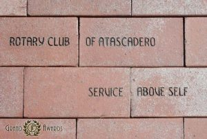 Engraved Brick Fundraisers at Grand Awards - Pismo Beach, Central Coast California